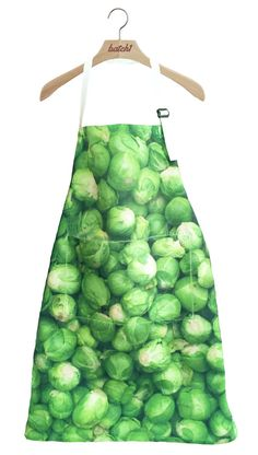 BATCH1 LOVE YOUR SPROUTS CHRISTMAS SANTA HAT NOVELTY XMAS CHEFS APRON