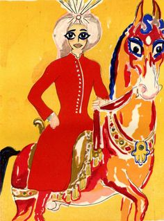Aladdin One Thousand and One Nights Limited  Edition Print, Illustration by Kees van Dongen, Modern Art