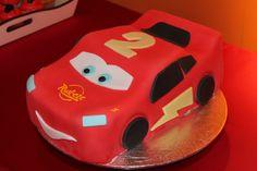 Fiesta Rayo McQueen, tarta de fondant  McQueen Party - fondant cake
