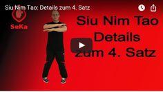 Details zum vierten Satz der Siu Nim Tao im Wing Chun