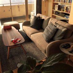 逃げるは恥だが役に立つ #逃げるは恥だが役に立つ #逃げ恥 #新垣結衣 #星野源 #ムズキュン #ドラマ #interior #livingroom #homedecor #homeinspiration #loungechair #modern #wooden #interiorinspiration