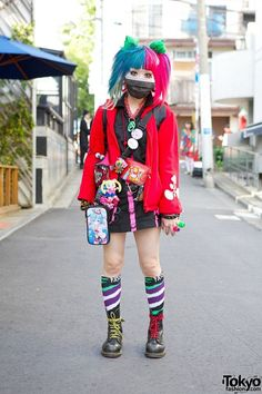 Lizard King socks by Stance have made it into this fabulous outfit spotted in Tokyo!