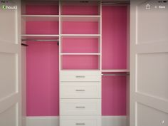 Kids' Reach In Closet