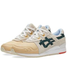 Asics Gel Lyte III 'Christmas Pack' (Birch & Hampton Green) | END.