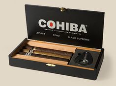 Dominican Cohiba Sampler - 3 Cigars & Cutter