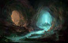Image result for underground fountain fantasy