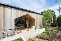 House K by Yoshichikatakagi  Associates (1/3) #teamarchi #pin #wood #architecture #architectureporn