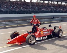 Two-time pole winner and track record holder Arie Luyendyk Indy Car Racing, Indy Cars, Le Mans, Grand Prix, Band On The Run, Indianapolis Motor Speedway, Speed Racer, Vintage Race Car, Car And Driver