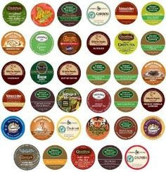 35 different K-Cup flavors #coffee