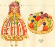 Dessert Inspired Anime Characters » Fanboy.com