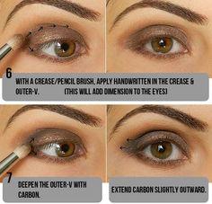 Makeup Tips, Beauty Reviews, Tutorials   Miss Natty's Beauty Diary Blog: Step by Step Smokey Taupe Eyeshadow Tutorial!