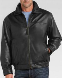 Joseph & Feiss Men's Lambskin Leather Jacket for $150  free shipping #LavaHot http://www.lavahotdeals.com/us/cheap/joseph-feiss-mens-lambskin-leather-jacket-150-free/124692