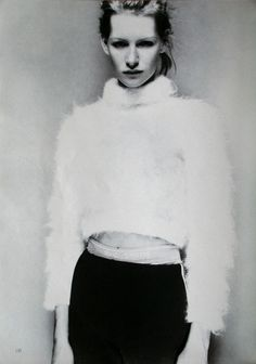 "80s-90s-supermodels:  ""Sportswear"", Marie Claire Germany, November 1993Model: Kirsten Owen"