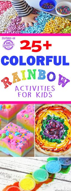 colorful kids rainbow activities