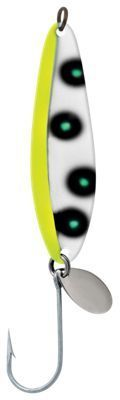 Luhr Jensen Coyote Spoon - Flo Chartreuse/Green UV - 3-1/2''
