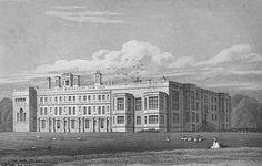 Castle Ashby from Jones' views (1819) - Castle Ashby House - Wikipedia, the free encyclopedia