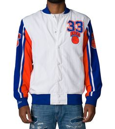 MITCHELL AND NESS MENS NY KNICKS PATRICK EWING WARM UP Multi-Color