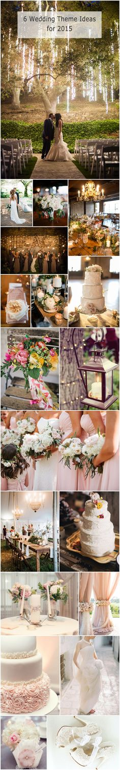 #weddingideas #weddingthemes top 6 trending wedding theme ideas for 2015