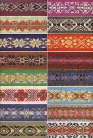 200 Fair Isle Motifs: A Knitters Directory - Knitting Books by Mary Jane Mucklestone