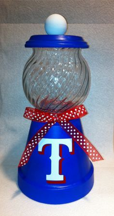 Texas Rangers Candy Dish by ranran1213 on Etsy, $20.00