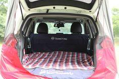 Kamperen in de auto - SsangYong maakt het mogelijk