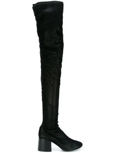Shop Mm6 Maison Margiela fish net covered boots in Di Pierro from the world's best independent boutiques at farfetch.com. Shop 400 boutiques at one address.