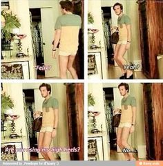 Poor Marzia...Pewds is always stealing her clothes...lol
