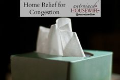 Arm and Hammer Congestion Relief at Home