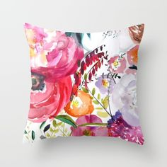 Buy Bloom Throw Pillow by Mai Autumn Design. Worldwide shipping available at Society6.com. Just one of millions of high quality products available.