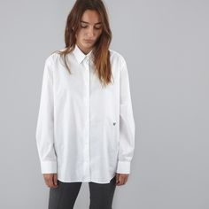 Wood Wood Dana Shirt - White
