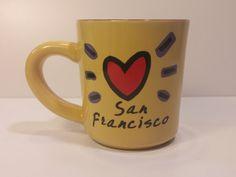Vintage Luke A Tuke San Francisco Golden Gate Bridge Mug, Coffee Mug, Tea Mug, Soup Cup, Soup Mug, Tea Cup, Coffee Cup - Great Shape