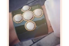 http://www.johannasimonds.com/collections/bracelets-cuffs/products/cabochon-cuff-in-olive-by-bellissima