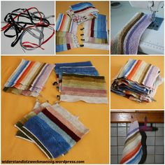 Upcycling - Abwaschtücher - Spültücher aus alten Handtüchern selbst genäht selber machen [Anleitung]