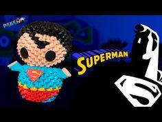 Tutorial Mario 3D Origami - Hướng dẫn xếp Mario Origami 3D - YouTube