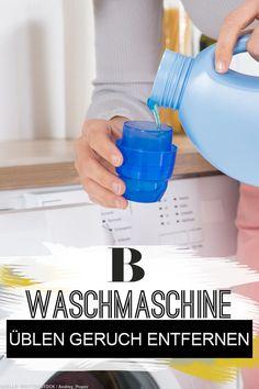 Waschmaschine Geruch wäsche stinkt riecht muffig nach dem waschen wäsche waschen und