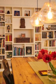 Bibliothèque - Boekenkast - Library Decor, Shelves, Bookcase, Home Decor, Indoor