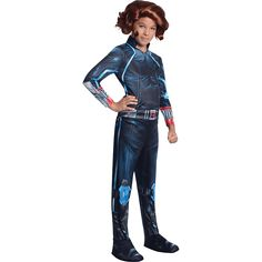Girls Age of Ultron Black Widow Costume - RC-610443 from Superheroes Direct