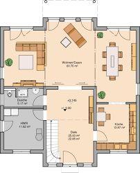 Hauspläne grundrisse  CLOU 157 Walmdach Grundriss Obergeschoss | Hauspläne | Pinterest ...