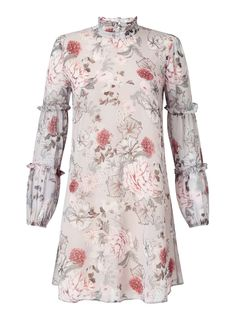 Miss Selfridge Floral Babydoll Dress, $82, available at Miss Selfridge.