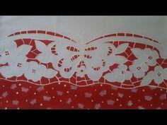 Pintura em Tecido. Aprenda pintar Falso Rechilieu. - YouTube