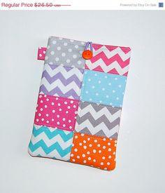 SALE Polka Dots and Chevrons  iPad Mini / Kindle by RKEMdesigns, $22.53