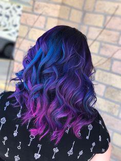 My Galaxy Hair. Essense Hair London Ontario
