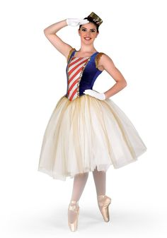 this is a soldier doll costume. I'm going to be a soldier doll for my nutcracker this year!