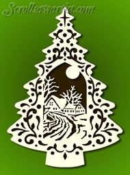 Scroll Saw Patterns :: Holidays :: Christmas Felt Patterns, Scroll Saw Patterns, Xmas Ornaments, Christmas Decorations, Baumgarten, Diy And Crafts, Paper Crafts, Country Scenes, Paper Snowflakes