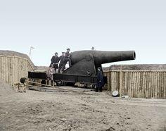 A 15 inch Rodman Gun in Battery Rodgers - Alexandria, VA