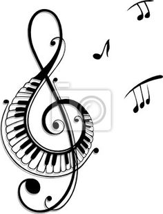 notinhas musicais na arvore - Pesquisa Google
