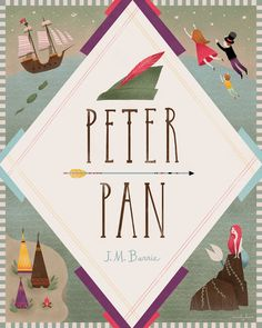 Peter Pan art print by Emily Dove, via Society 6