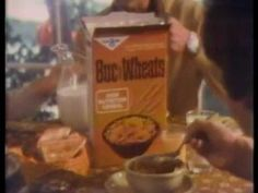Buc Wheats Cereal 1976 TV commercial