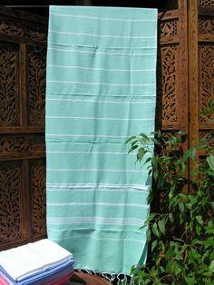 Large Hammam towel - Atlas green. http://www.maroque.co.uk/showitem.aspx?id=ENT06254&p=00739&n=all