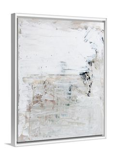 White art - Norway Road abstract art by Lindsay Letters.